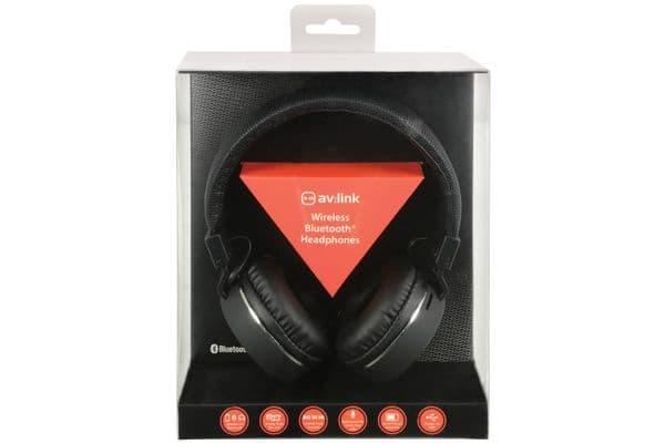 AV:Link PBH-10 Wireless Bluetooth Headphones - On Ear